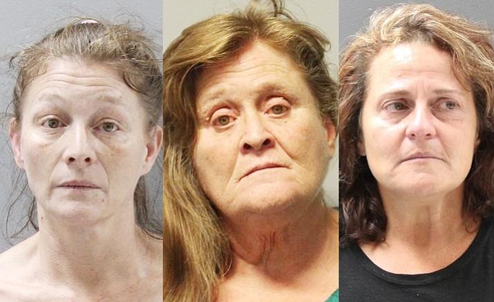 Michelle Lee Allen, Debra Jean Phillips and Teresa Louise Swanson.
