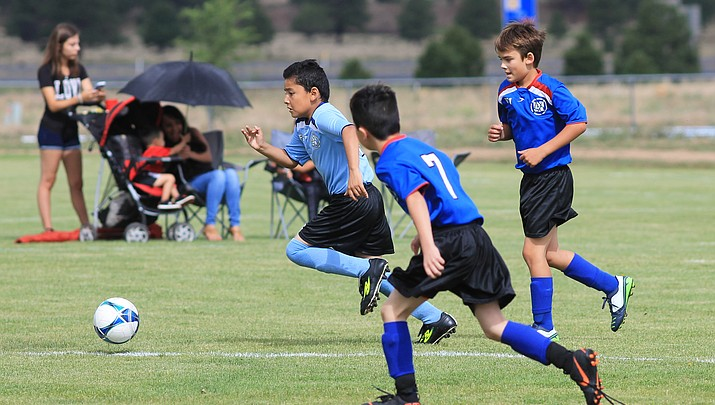 AYSO players hit the field July 14