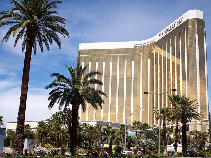 The lawsuits target victims who have sued the company and voluntarily dismissed their claims or have threatened to sue after a gunman shattered the windows of his Mandalay Bay suite and fired on a crowd gathered below for a country music festival.
