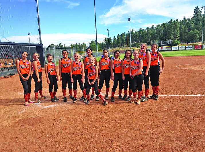 Williams 11-12 softball Allstars finished their season at the Little League State tournament last week in Flagstaff. (Wendy Howell/WGCN)