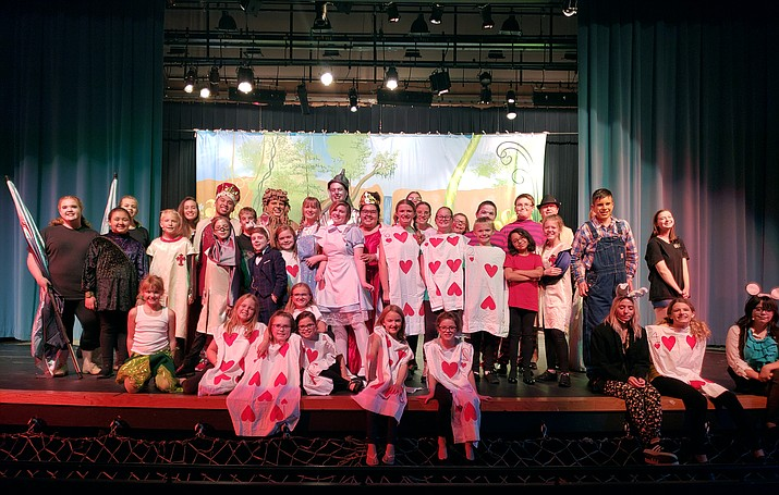The cast of 'Dorothy in Wonderland' will put on a production for the Kingman community at Kingman High School auditorium. (Photo courtesy of Sidney Valdez)