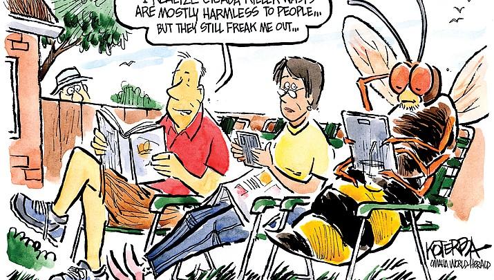 Editorial cartoon (2): July 19, 2018