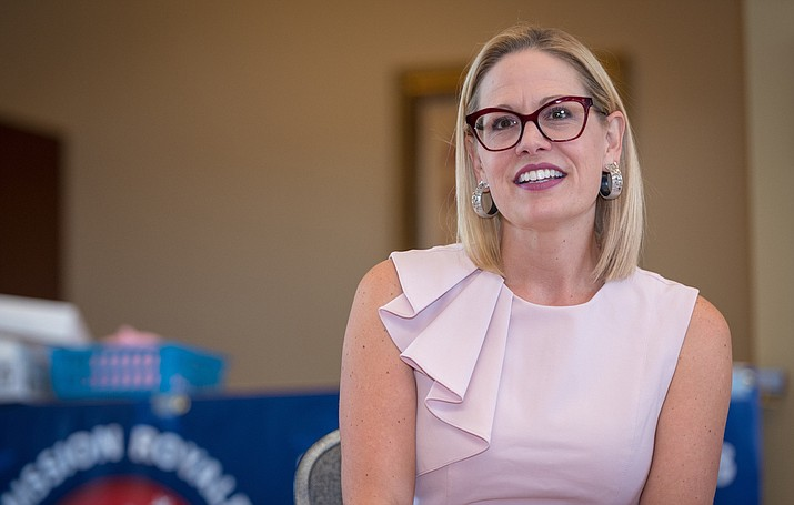 Kyrsten Sinema is committed to stand up for women's access to healthcare. (Photo courtesy of Sinema's Press Secretary)