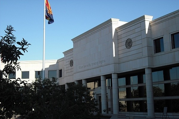 The Arizona Supreme Court building in Phoenix. (Courtesy)