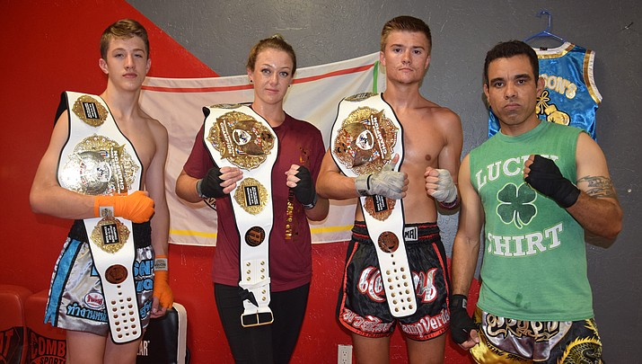 Camp Verde fighters bring home belts from Muay Thai expo