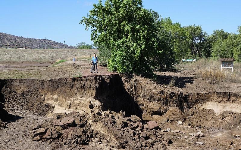 Prescott closes main Peavine Trailhead after damage from storm microburst
