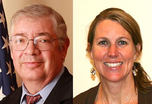 Dr. M. Keith Piatt and Dr. Kerri Wilhoite