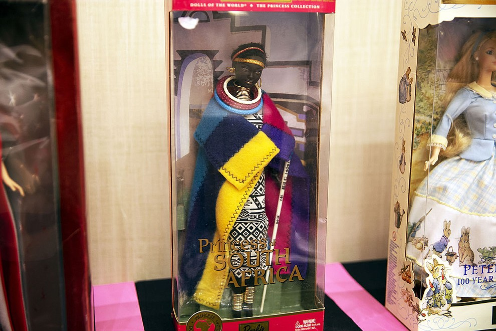 This doll from 2000 comes from the Dolls of the World - Princess Collection. Mattel releasesd dolls that reflect the cultures and fashions of countries from around the world. (Photo by Vivian Meza/Cronkite News)