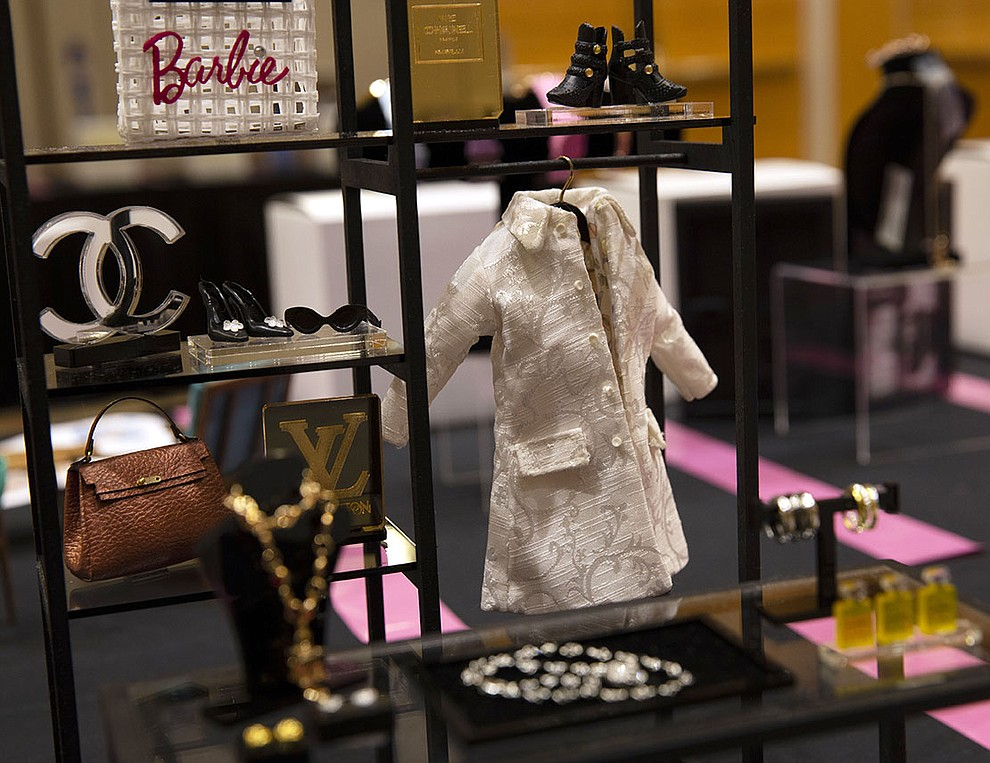 Collectors and designers of the iconic Barbie doll spend hours buidling dioramas and accessories for their dolls,  inspired bypersonal experiences, fashion and culture.(Photo by Vivian Meza/Cronkite News)