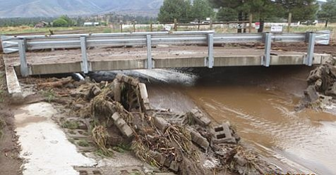 The Coconino County Board of Supervisors declared a State of Emergency during a special session this morning due to the major flooding in the north Schultz Flood area. (Coconino County)