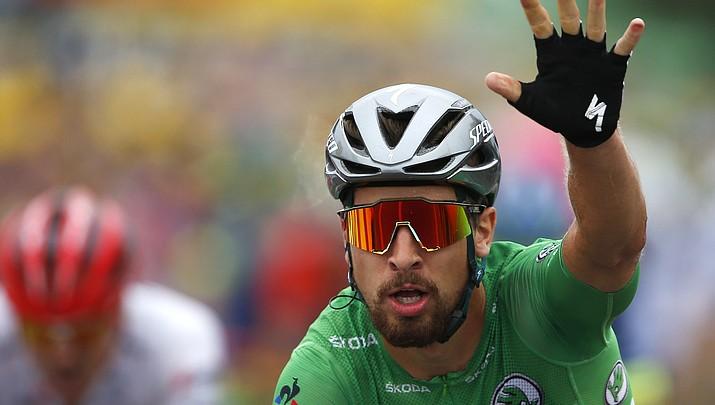 Sagan takes third win at Tour, Thomas keeps lead on Stage 13