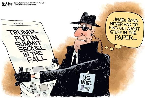 Editorial Cartoon   July 22, 2018