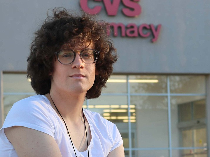 Hilde Hall, a transgender woman, says a CVS pharmacist refused to fill her hormone medication and loudly questioned her in front of other customers. The company apologized on social media Friday saying the pharmacist is no longer an employee. (Photo courtesy of ACLU of Arizona)