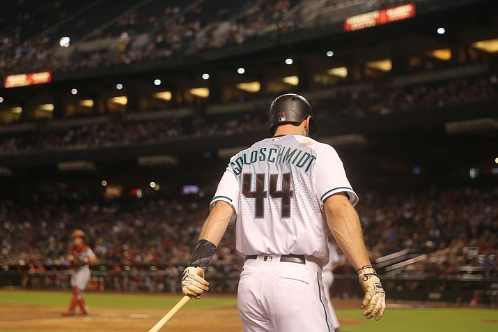 Diamondbacks All-Star first baseman Paul Goldschmidt has already struck out 110 times in 95 games. (Photo by Asia Walters/Cronkite News)