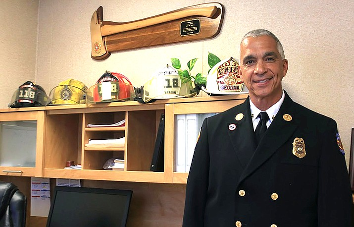 Verde Valley Fire Chief Nazih Hazime announced his retirement as Verde Valley Fire Chief last Thursday. He will be leaving his post in September after nine years of service. Hazime previously served two years in Sedona and 25 years in Dearborn, Michigan. VVN/Kelcie Grega