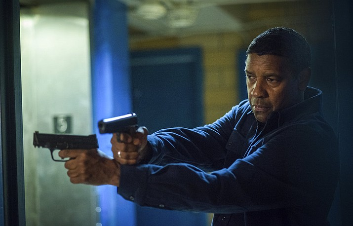 "This image released by Columbia Pictures shows Denzel Washington in a scene from ""Equalizer 2."" (Glen Wilson/Sony, Columbia Pictures via AP)"