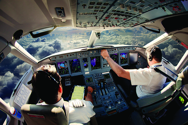 About 790,000 professional pilots will be required to fill commercial cockpits in the next 20 years, according to a study from the Boeing Company that was released Monday, July 23, 2018. (Petrovalexey/Adobe Stock)