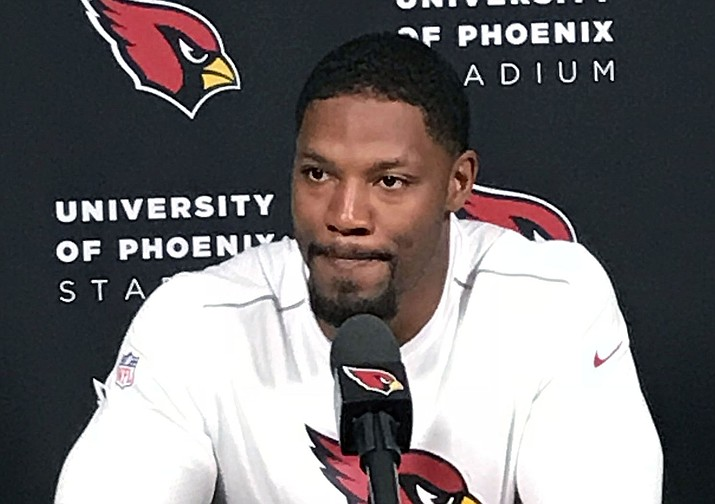 Arizona running back David Johnson announced on Twitter that he would end his holdout and report to training camp. (File photo courtesy of Shawn Moran/Cronkite News)