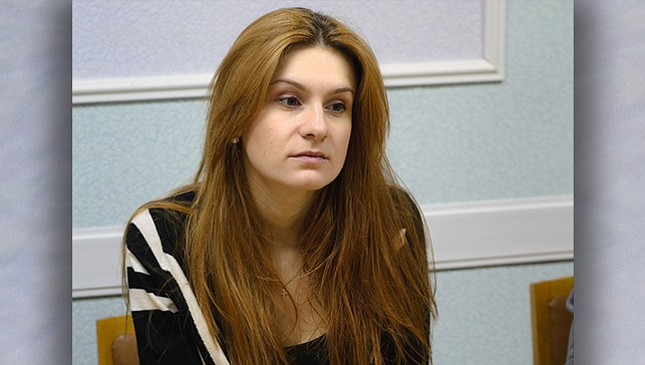 Maria Butina December 2014 file photo by Pavel Starikov (CC 2.0 https://goo.gl/wjNJZH)