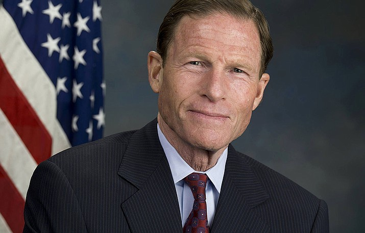 At a hearing Tuesday in Washington, Democratic Sen. Richard Blumenthal of Connecticut criticized leaders of the USOC and USA Gymnastics for court filings this month that seek to absolve the federations of legal responsibility for Larry Nassar's sex-abuse crimes.