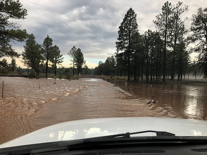 The Coconino County Board of Supervisors declared a State of Emergency during a special session after major flooding in the north Schultz Flood area July 18.