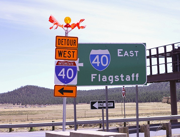 The closing of on and off-ramps on I-40 between Williams and Flagstaff this summer have taken a toll on businesses.