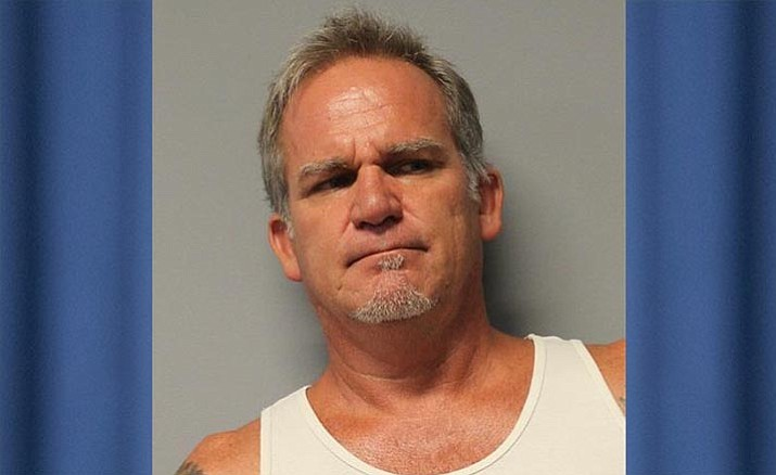 Richard Edwards, 55, Cottonwood, is being held in the Yavapai County Jail on felony charges that include  sexual assault, sexual conduct with a minor, sexual abuse, lure minor for sexual exploitation and threatening. He remains in-custody on a $500,000 cash bond. Photo courtesy YCSO