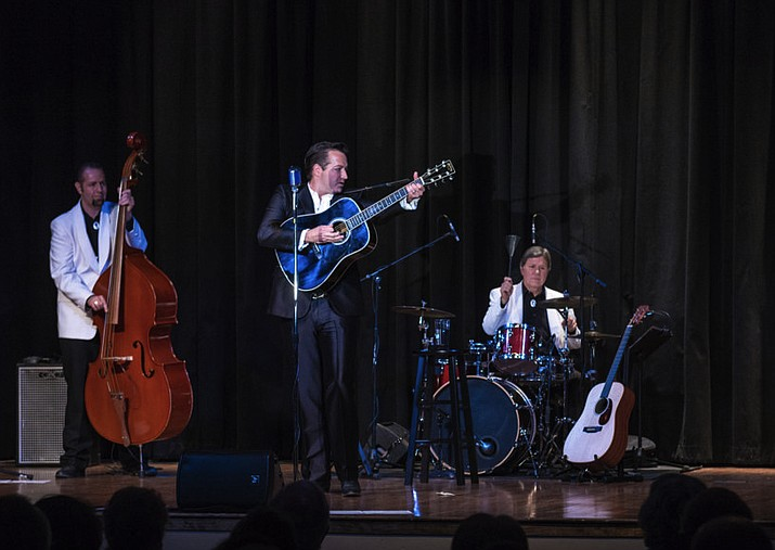 "Robert Shaw performs in the ""I've Been Everywhere: The Johnny Cash Roadshow Experience,"" which comes to the Elks Theatre and Performing Arts Center at 7 p.m. Friday, July 27. (Trish Thayer/Courtesy)"