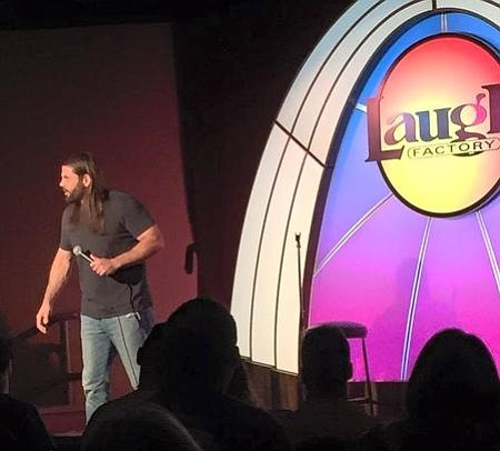 Jonathan Gregory at the Laugh Factory