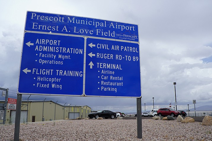 The Prescott Municipal Airport terminal will, once again, be active with commercial passenger traffic starting Aug. 29, 2018. (Cindy Barks/Courier, file)