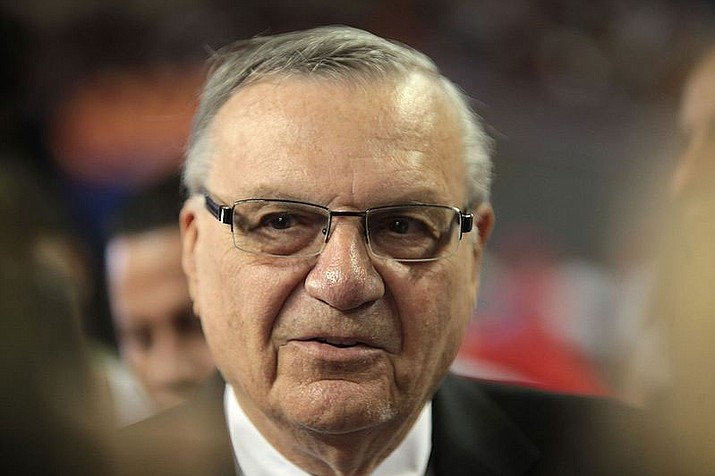 U.S. Senate candidate Joe Arpaio (File photo)