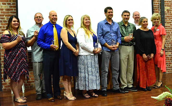 Verde Valley Leadership Class XII graduates include Class XII graduates are Hezekiah Allen, Aisha Ayazi, Brandi Bateman, John Carter, Felicia Filep, Mike Gray, Jamie Hausaman, Brandon Iurato, Ron Rux, and Madisen Westcott.   Photo by Darrell Yoakum