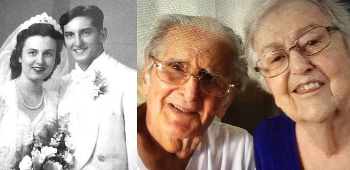 Mr. and Mrs.  Mallo were married August 7, 1943, in Chicago, Illinois. Mr. Mallo, 96, is a veteran of World War II, and was awarded a Purple Heart for his service.  Mrs. Mallo, 93, was a homemaker, raising nine children.