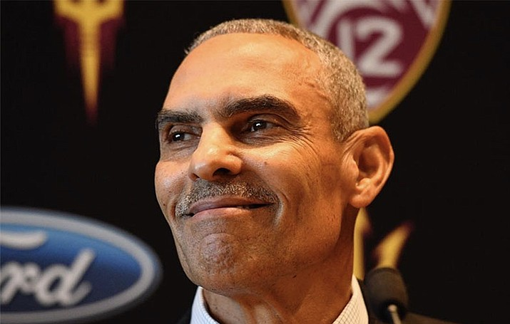 Arizona State football coach Herm Edwards doesn't care about preseason predictions.(Photo courtesy Arizona State athletics)