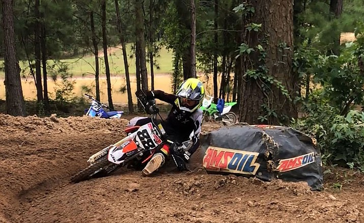 Cade Bradley qualified for the 37th Annual Rocky Mountain ATV/MC AMA Amateur National Motocross Championship in Tennessee. It'll be his first time competing in the event. (Courtesy photo)