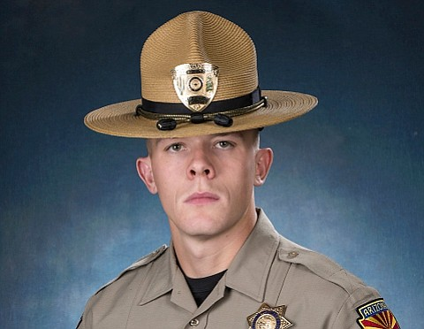 Arizona State Trooper Tyler Edenhofer is seen in this undated handout photo provided by the Arizona Department of Public Safety. (Arizona Department of Public Safety via AP)