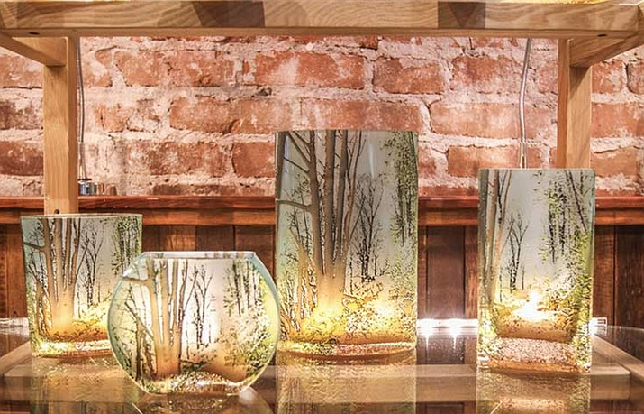 Bring a touch of the outside indoors with nature-inspired gifts from Firefly Gallery. Courtesy photo