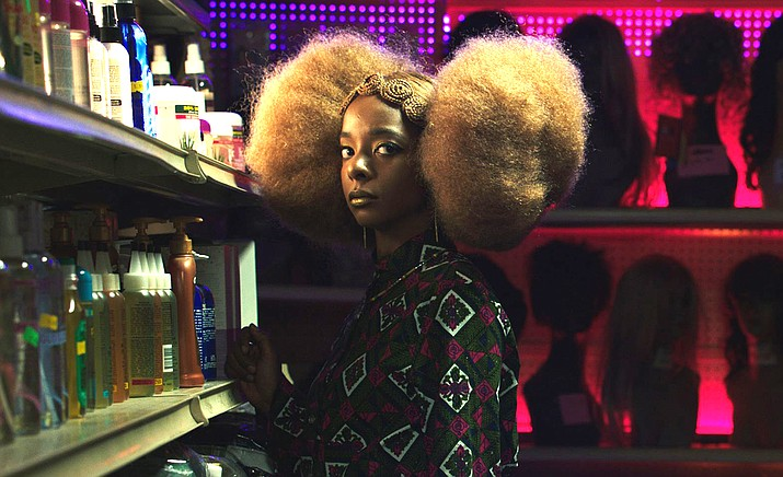 Hair Wolf.  Written and directed by Mariama Diallo. In a black hair salon in gentrifying Brooklyn, the local residents fend off a strange new monster: white women intent on sucking the lifeblood from black culture.