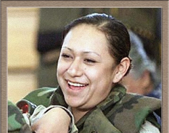 Lori Piestewa died in March 2003, making her the first woman to die in the Iraq War and the first Native American woman to die in combat while serving in the U.S. military. (Photo by Piestewa Family/Getty Images)
