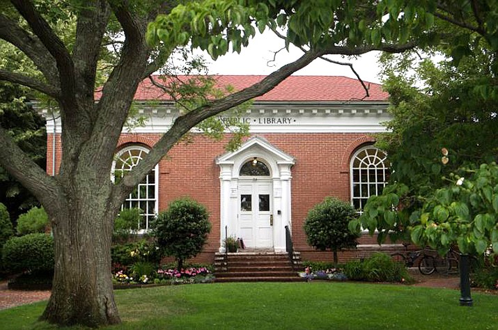 Carnegie Library in Edgartown, Massachusetts. Photo courtesy of Chris Scott and Paul Majane