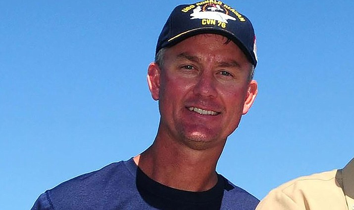 Arizona's offensive coordinator Mike McCoy likes what he sees so far from the Cardinals during training camp. (Photo by Chief Petty Officer Terry L. Feeney, public domain, https://bit.ly/2NZoLcZ)