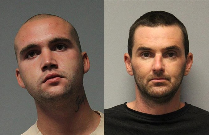 Aaron Martin, 20, of Verde Village, and Monty Pritchard, 33, of Cottonwood were arrested Wednesday morning, Aug. 1, for their alleged involvement in a drive-by shooting in Cottonwood.