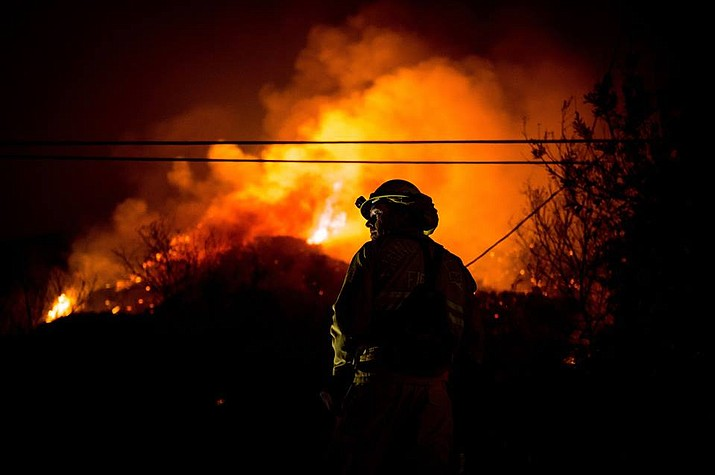 The huge Redding-area blaze, which started July 23, forced 38,000 people from their homes and killed six. It has scorched 180 square miles and is 35 percent contained. (Photo provided by the United States Forest Service)