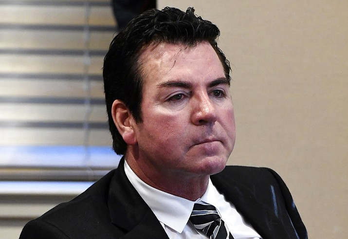Papa John's founder and CEO John Schnatter says the pizza chain needs him back as its public face, and that it was a mistake for the company to scrub him from its marketing materials after he acknowledged using a racial slur last month. (AP Photo/Timothy D. Easley, File)
