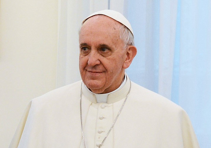 Pope Francis. (Argentina Presidency of the Nation photo, CC BY 2.0, https://bit.ly/1FveBvo)