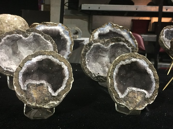 Samples of what can be seen at the Prescott Gem & Mineral Club's 15th annual Show and Sale held Friday through Saturday, Aug. 3-5 at the Prescott Valley Event Center. (Jason Wheeler/Kudos)
