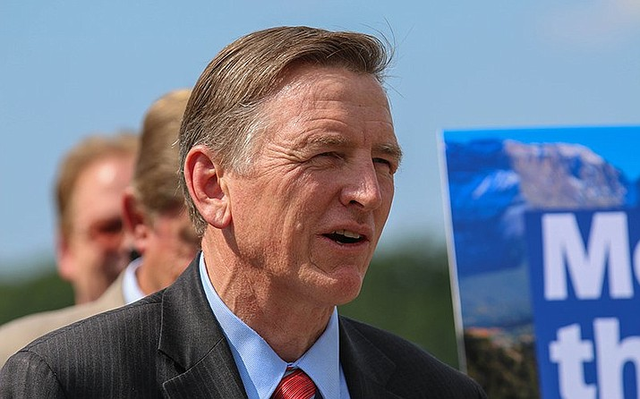 The American Civil Liberties Union has dropped its lawsuit against Rep. Paul Gosar, R-Prescott, for blocking voters from his social-media accounts. (Bryan Pietsch/Cronkite News, file)