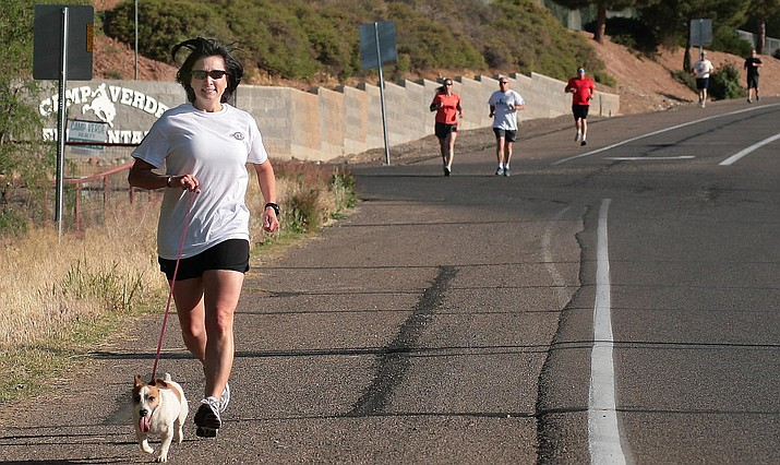 Camp Verde has had its share of running events, such as the Jacob Teague Run, pictured in 2013. On Oct. 13, the Camp Verde Kiwanis and StartLine Racing will put on the inaugural Fort Verde Days K Runs. VVN/Bill Helm