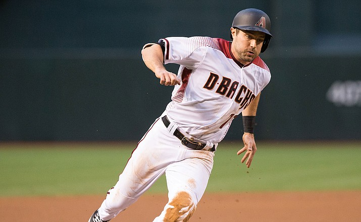 Diamondbacks center fielder A.J. Pollock is putting together a strong season despite missing more than a month because of an injury. (File photo courtesy of Taylor Jackson/Arizona Diamondbacks)