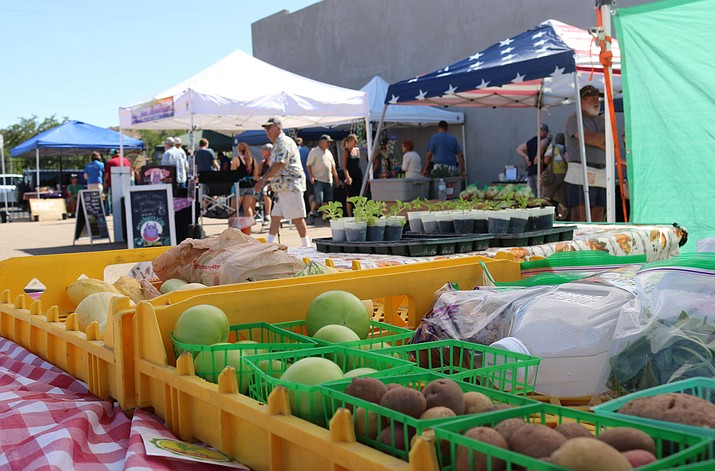 Kingman Farmers Market at 8 a.m. - noon, corner of First and Beale streets in Downtown Kingman next to Thunder Rode. (Daily Miner file photo)